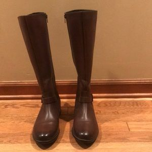 Clarks Tall Leather boots
